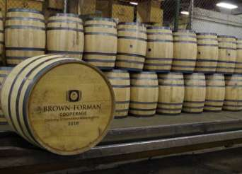 Brown Forman Cooperage 70 Years