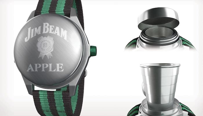 Ok, We Admit - The New Jim Beam Apple Watch Is Cool
