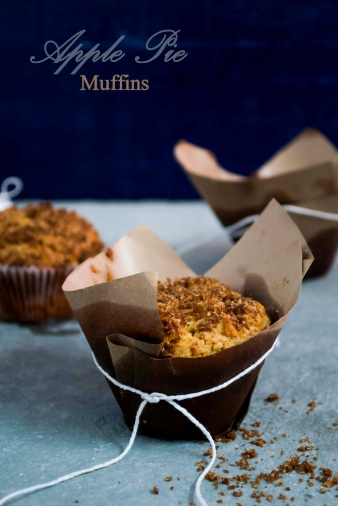 Apple Pie Muffins - The White Ramekins