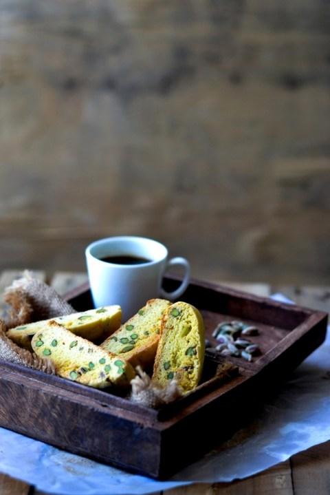 Saffron & Pistachio Biscotti 1