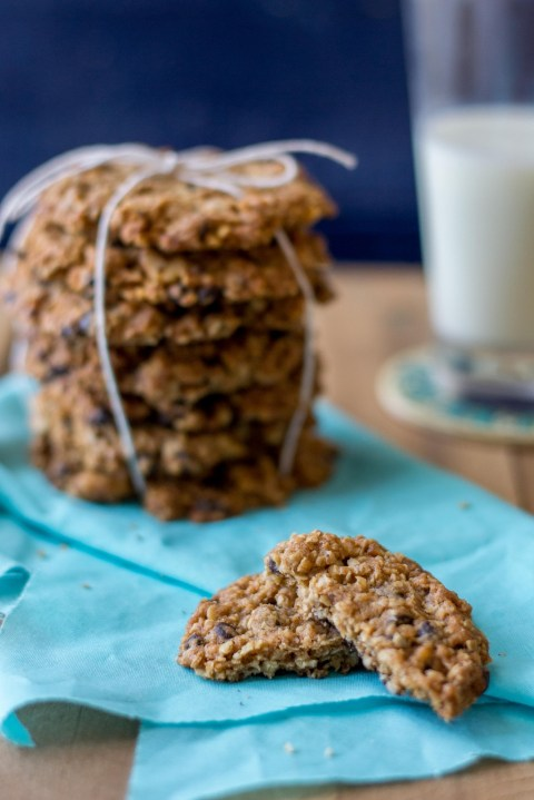 Oatmeal Chocolate Chip Cookies 2
