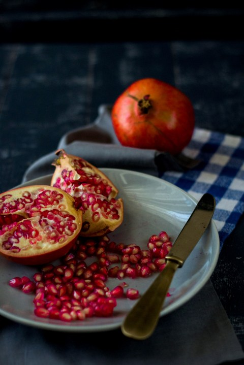 Pomegranate & Strawberry Roulade 2