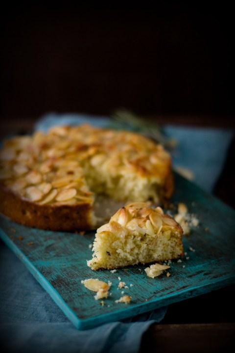 Lemon Rosemary Ricotta Olive Oil Cake 9