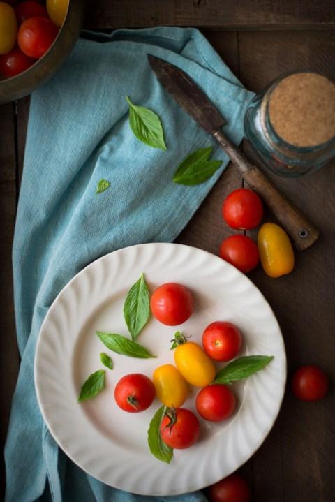 Tomato Goat Cheese & Basil Pesto Tart 2