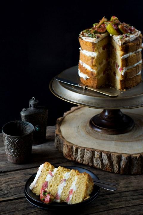 Buttermilk Country Cake As Wedding Cake