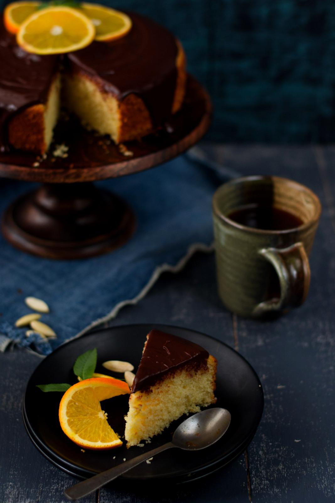 Cake Yogurt Orange