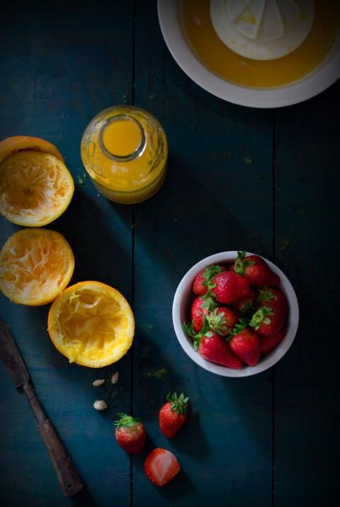 Strawberry & Orange Sorbet