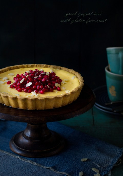 Greek Yogurt Tart With Gluten Free Crust