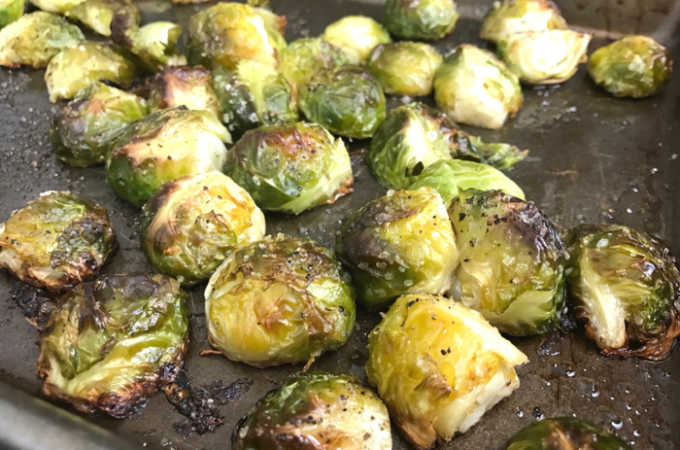 Roasted Brussels Sprouts FEATURE