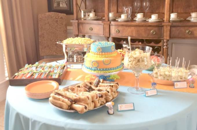 Bubble Guppies Birthday Party (for a Boy)