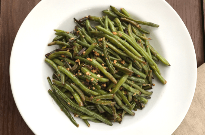 Garlic Green Beans FEATURE