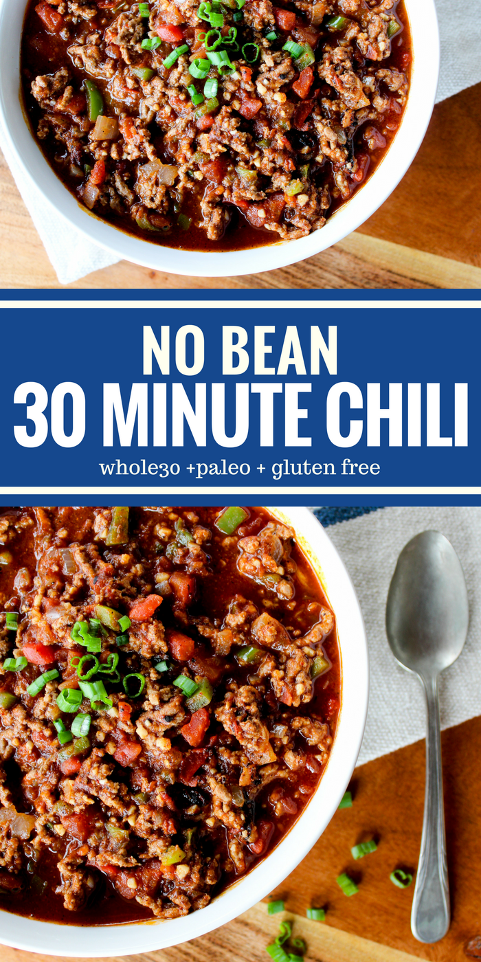 No Bean 30 Minute Chili by The Whole Cook(1)