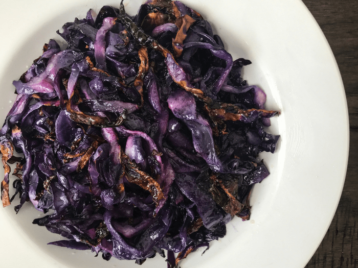 Roasted Red Cabbage by The Whole Cook HORIZONTAL FEATURE