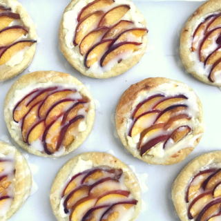 Peach Cream Cheese Tarts