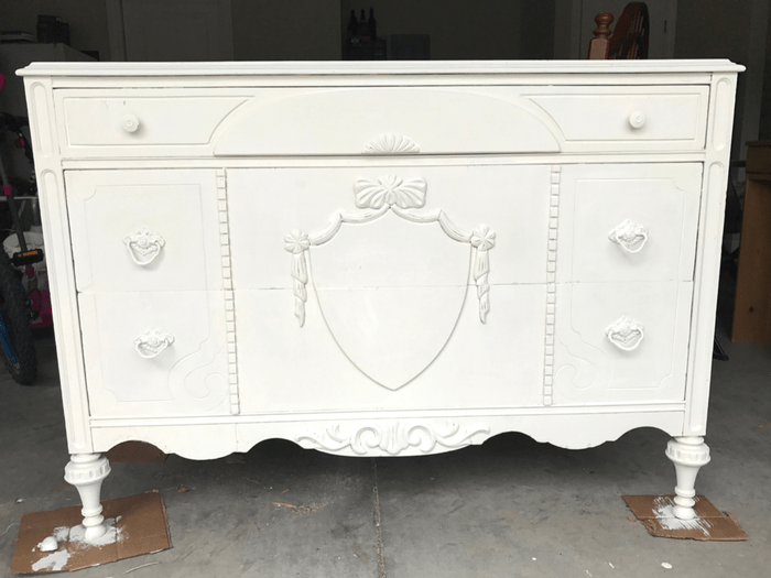 1930s Dresser SECOND COAT