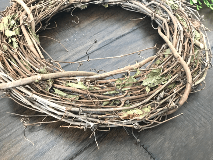 Faux Boxwood Wreath GRAPEVINE