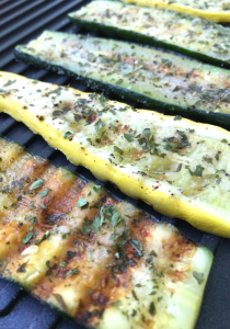 Grilled Zucchini & Squash by The Whole Cook VERTICAL FEATURE