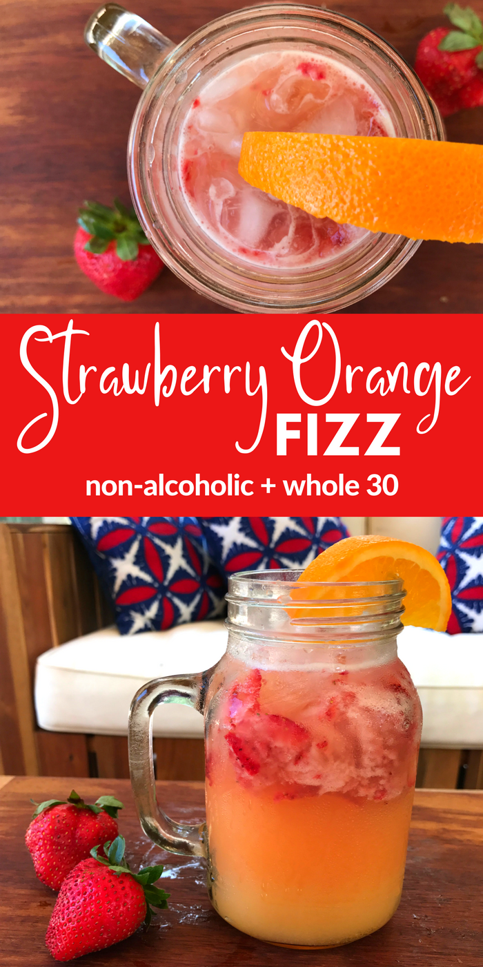 Strawberry Orange Fizz by The Whole Cook(1)