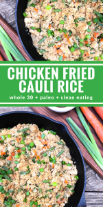 Chicken Fried Cauli Rice by The Whole Cook PINTEREST