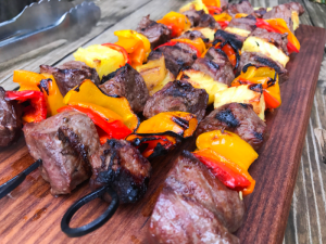 Hawaiian Steak Kabobs by The Whole Cook HORIZONTAL FEATURE