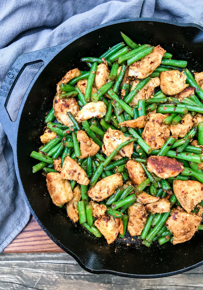 Garlic Crushed Red Pepper Chicken Stir Fry by The Whole Cook VERTICAL FEATURE