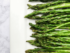 Roasted Lemon Asparagus by The Whole Cook Horizontal Feature