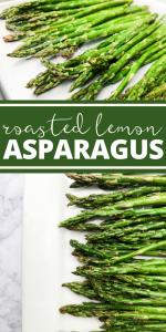 Roasted Lemon Asparagus by The Whole Cook PINTEREST