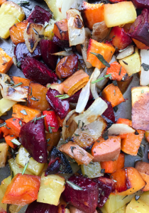 Roasted Rosemary Root Vegetables by The Whole Cook VERTICAL FEATURE