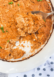 Dairy Free Buffalo Ranch Chicken Dip by The Whole Cook VERTICAL FEATURE