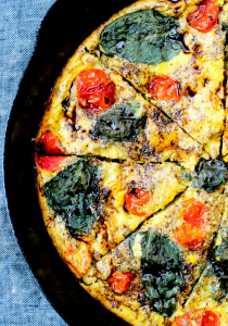 Caprese Frittata by The Whole Cook vertical