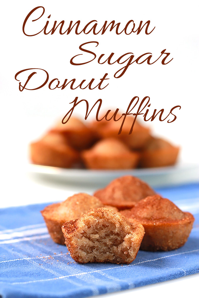 ... ve Pinned, finally making it to my plate- Cinnamon Sugar Donut Muffins
