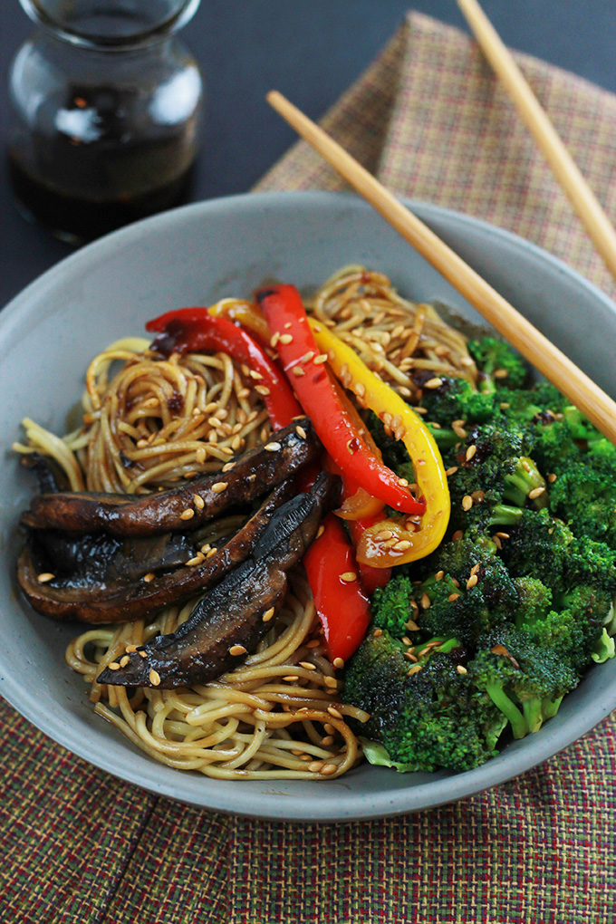 Spicy Ramen Vegetable Stir-Fry from The Whole Serving