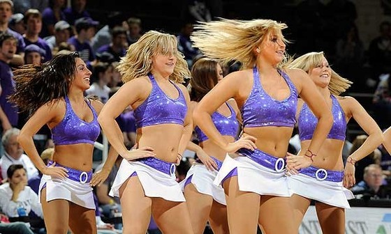 kansas state university cheerleaders Hump Day Links: Hot Cheerleaders, Elin, the New Jersey Nets & More