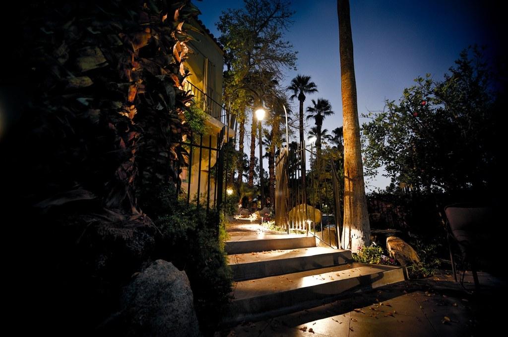 Steps at Twilight