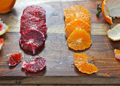 Blood Orange and Satsuma