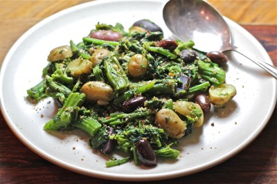 Broccoli Rabe - Potato Saute