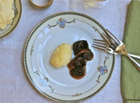 Honeyed Fig with Orange Mascarpone