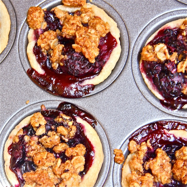 Very Berry Mini-Pies : The Wimpy Vegetarian
