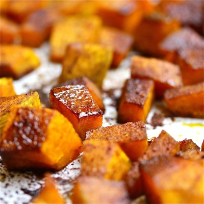 kabocha squash roasted