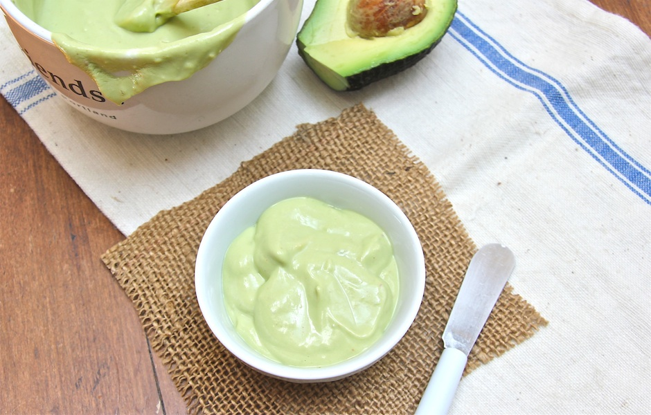 avocado cream recipe for sandwiches, pasta or salad dressings