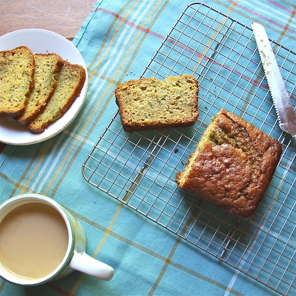 zucchini bread, brown rice, breakfast, dessert, high-altitude baking