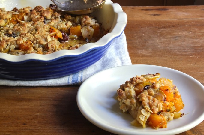 Farmhouse Butternut – Apple Crumble