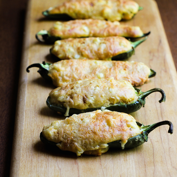 jalapeno poppers filled with cornbread