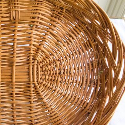 Dried Oregano from my garden basket up