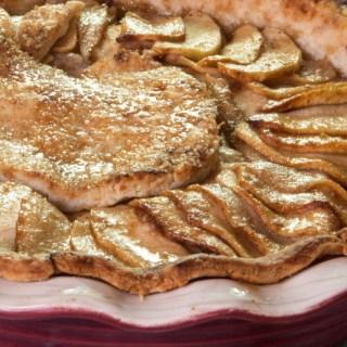 hot buttered rum apple pie