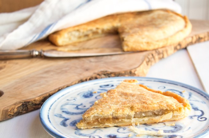 Double Crusted Apple Pie Galette #SundaySupper