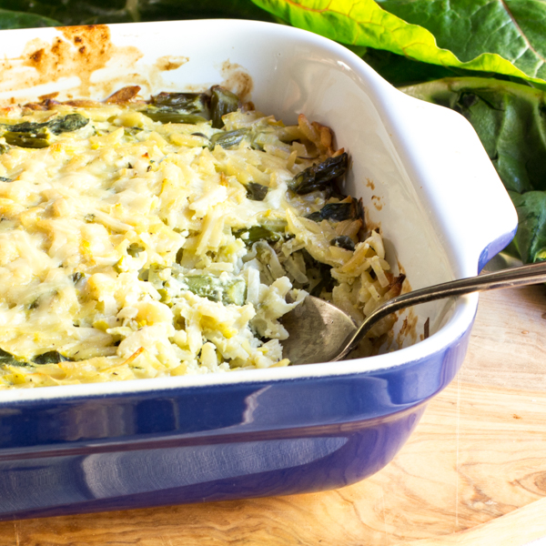 Creamy Feta and Asparagus Casserole