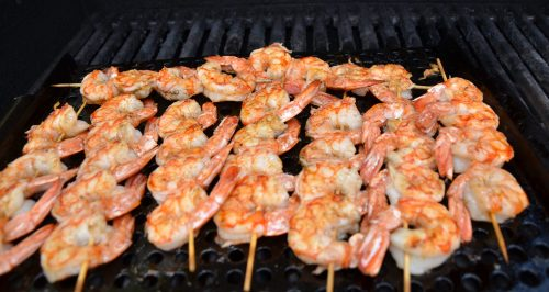 Medium Of How Long To Grill Shrimp