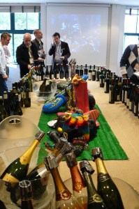 The &quot;main stage&quot; over 100 wines on tasting