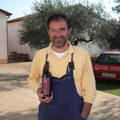 Istrian merlot from Moreno Coronica
